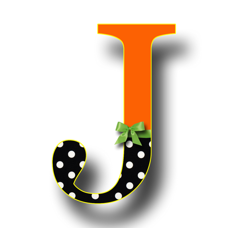 Letter j to acquire. Free downloadable clipart of individual alphabet letters