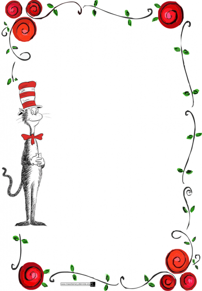 Free dr seuss border clipart png library download Download DR SEUSS BORDER Free PNG Transparent Image And Clipart ... png library download
