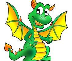 Free dragon clipart kids. Portal
