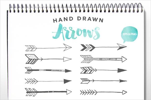 Free drawn arrow clipart svg transparent stock Hand Drawn Clip Art & Hand Drawn Clip Art Clip Art Images ... svg transparent stock