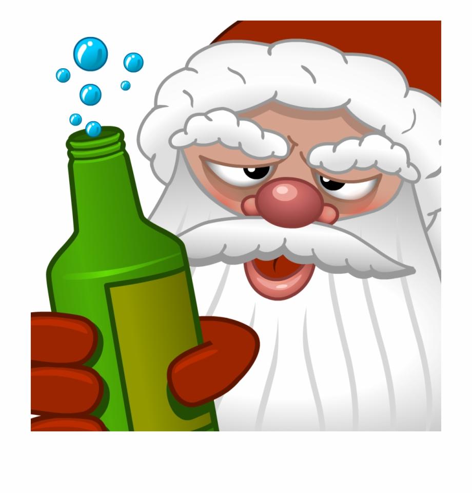 Free drunk santa clipart clipart free download Drunk Santa Png - Crazy Santa Png Free PNG Images & Clipart Download ... clipart free download