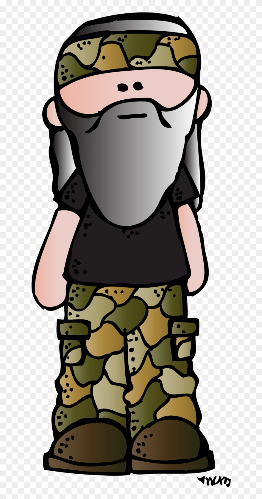 Commander by kimberly clip. Free duck dynasty clipart