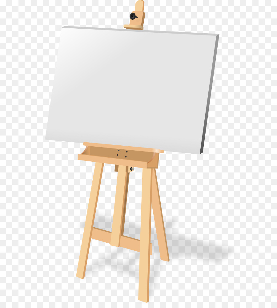 Free easel clipart picture transparent library Easel Background png download - 664*997 - Free Transparent Canvas ... picture transparent library