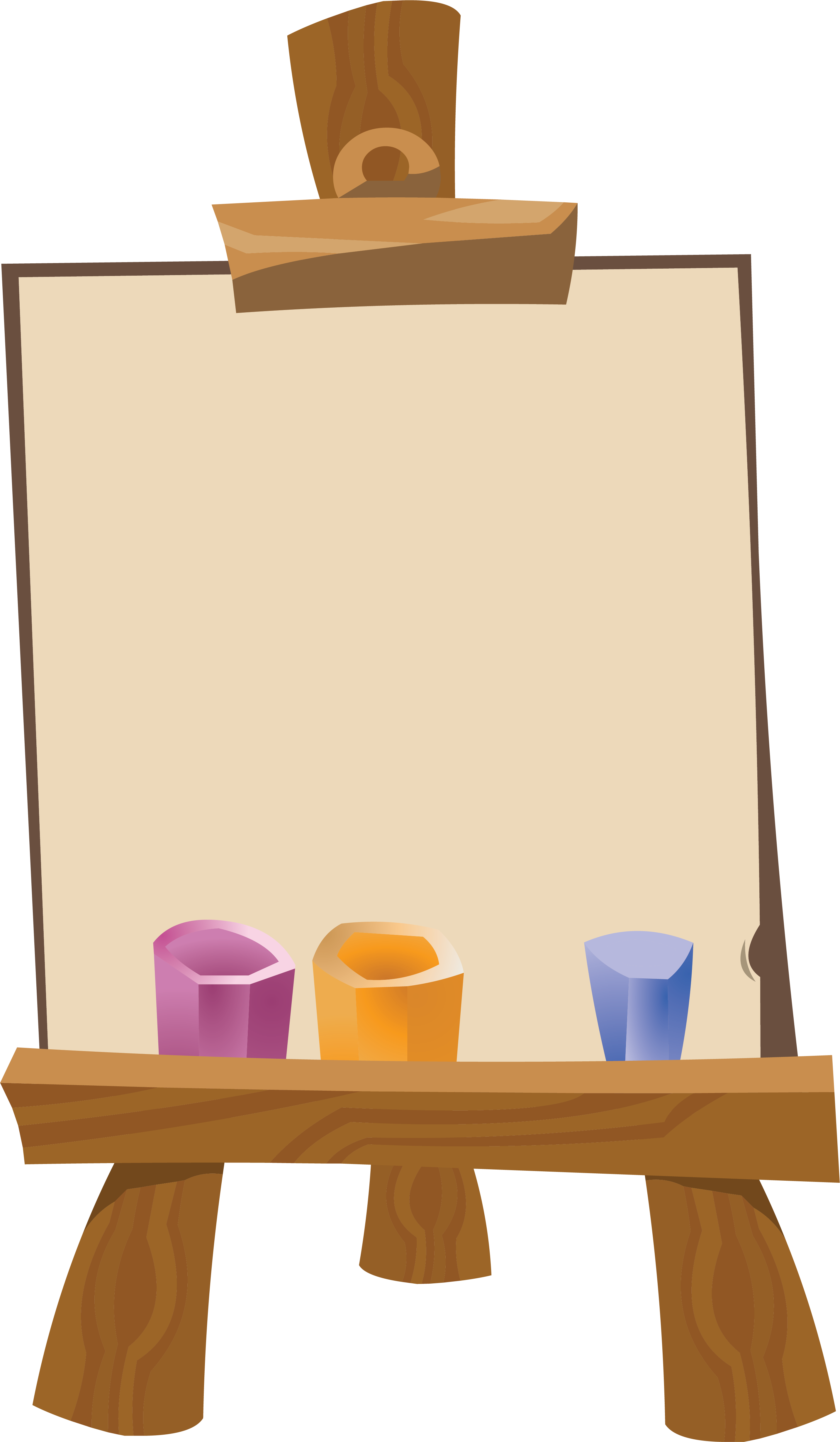 Free easel clipart vector transparent stock Easel clip art clipart images gallery for free download | MyReal ... vector transparent stock
