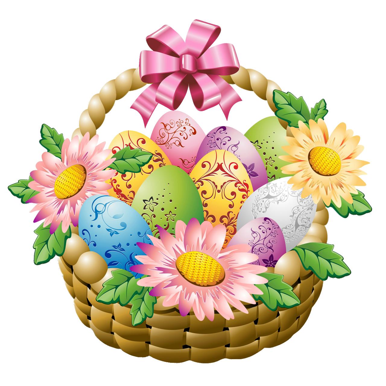 Free easter basket clipart jpg black and white download Free Easter Basket Clipart at GetDrawings.com | Free for personal ... jpg black and white download