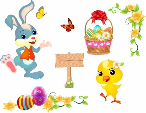 Free easter bunny clipart download picture black and white library Easter bunny vector free vector download (668 Free vector) for ... picture black and white library