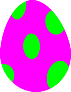 Free easter clipart egg