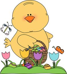 Free easter egg clip art vector freeuse easter clipart | Chick Carrying Easter Egg Clip Art Image - cute ... vector freeuse