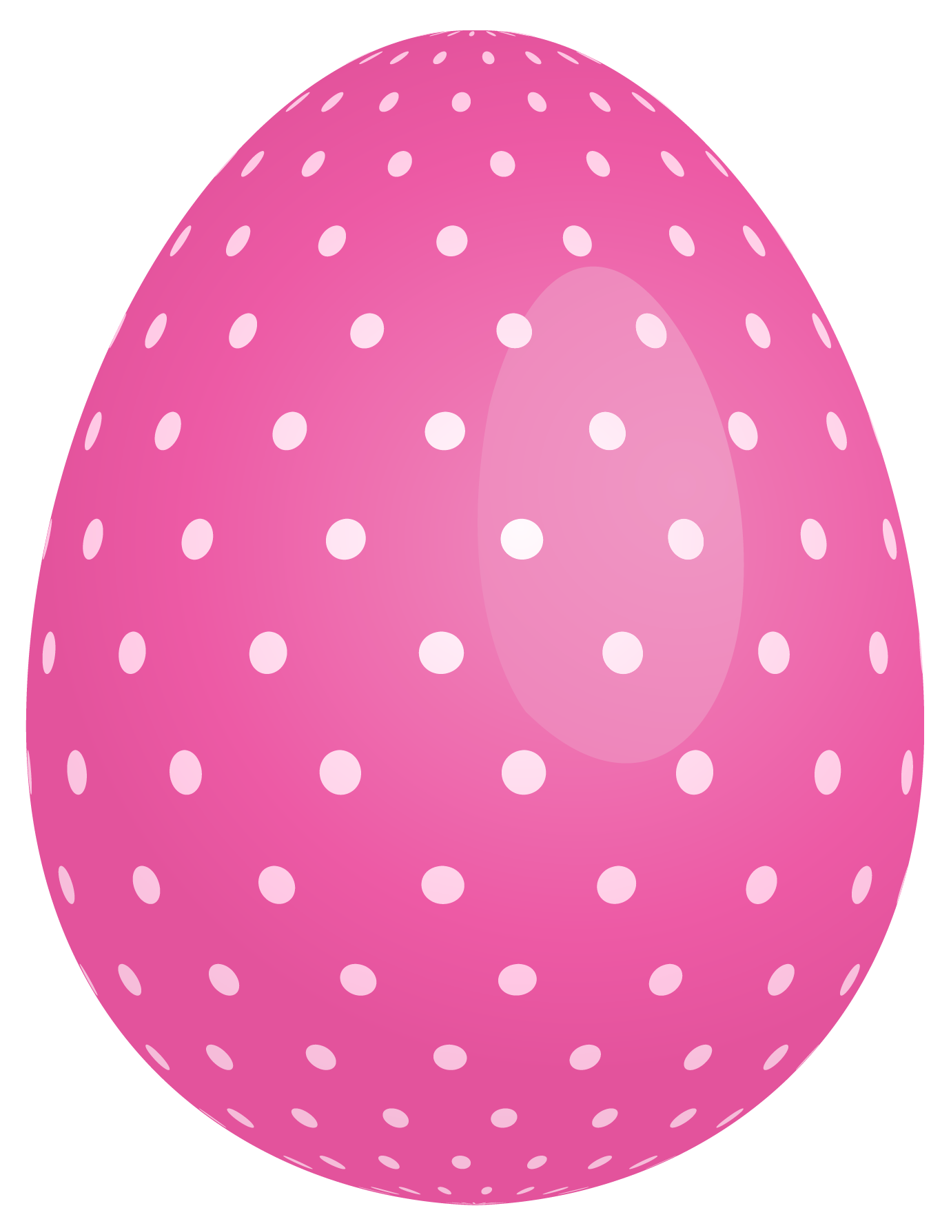 Free easter egg clip art clipart free Pink Dotted Easter Egg PNG Clipart | Gallery Yopriceville - High ... clipart free