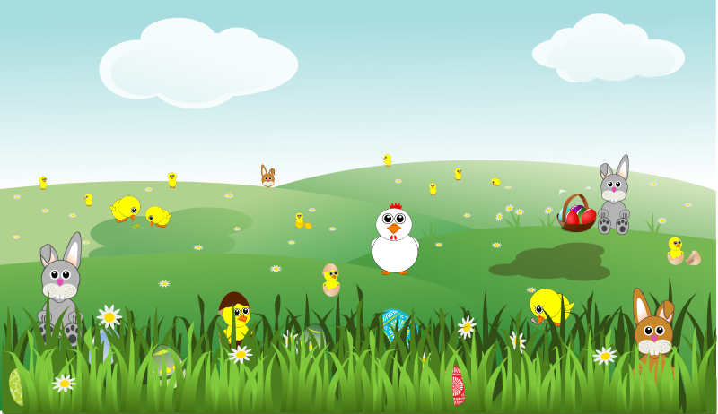 Free easter egg hunt clipart picture freeuse library Free Easter Clipart, 5 pages of free to use images picture freeuse library
