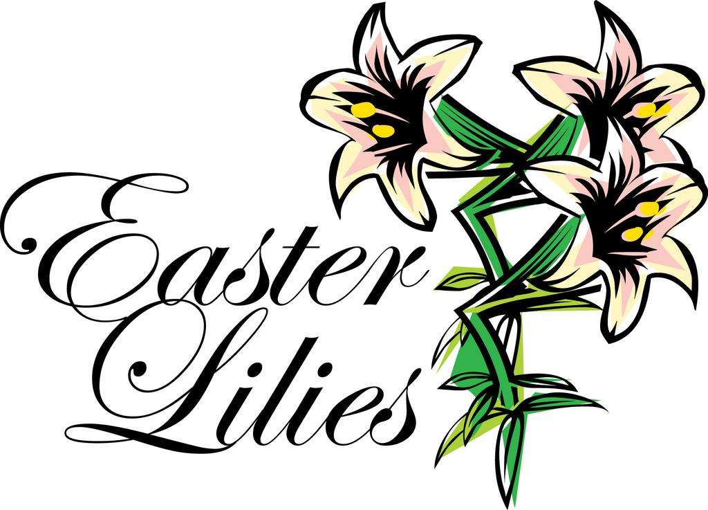 Free easter lily clipart png royalty free library Easter Lily Clipart Qcbxxbngi - Clipart1001 - Free Cliparts png royalty free library