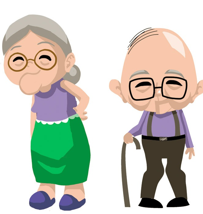 Free elderly clipart clipart black and white stock Free Old Cliparts Download Clip Art On Clipart Cheap People Lovable ... clipart black and white stock