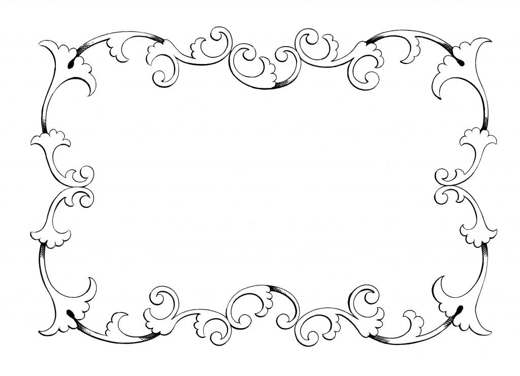 Elegant border clipart png royalty free Free Free Elegant Borders, Download Free Clip Art, Free Clip Art on ... png royalty free