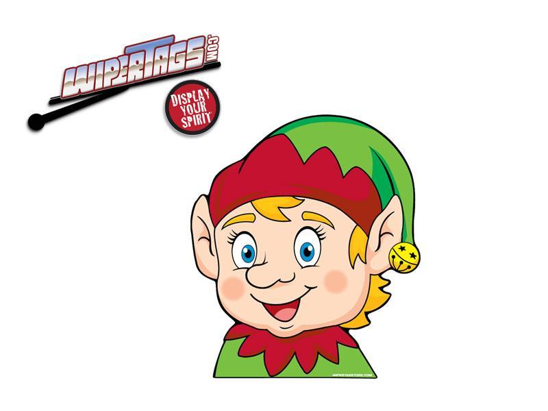 Free elf waving clipart jpg freeuse stock Eddie the Elf Arm Waving WiperTag + Decal jpg freeuse stock