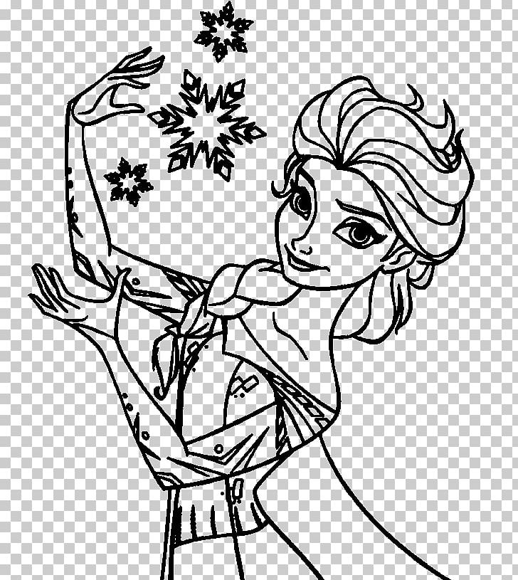 Free elsa clipart images black and white svg free library Elsa Anna Hans Olaf Coloring Book PNG, Clipart, Arm, Art, Black ... svg free library
