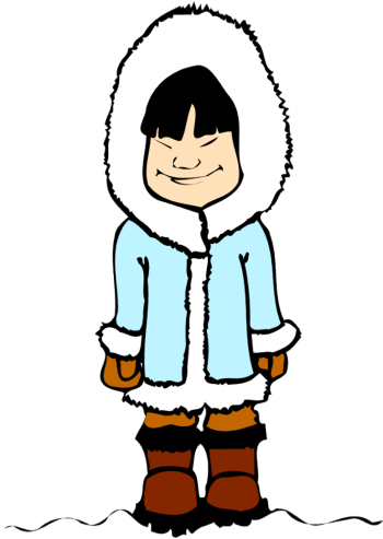 Free eskimo clipart. Great january png cliparts