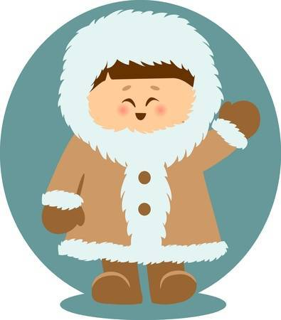 Inuit clipart vector royalty free stock Free eskimo clipart 4 » Clipart Portal vector royalty free stock