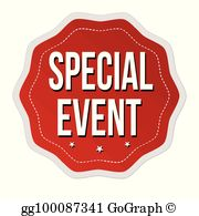 Free event clipart png library Special Event Clip Art - Royalty Free - GoGraph png library