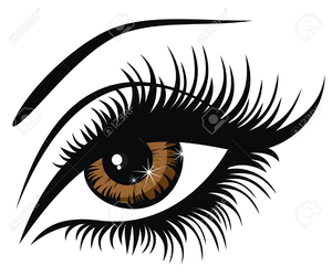 Free eyelash clipart image freeuse download Eyes With Eyelashes Clipart | Free Images at Clker.com - vector clip ... image freeuse download