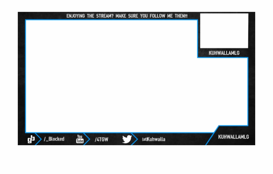 Free facecam overlay clipart image royalty free Webcam Overlay Twitch - Streaming Overlay Webcam Template Free PNG ... image royalty free