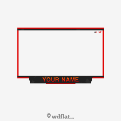Free facecam overlay clipart svg download Facecam overlay png AbeonCliparts - DLPNG.com svg download