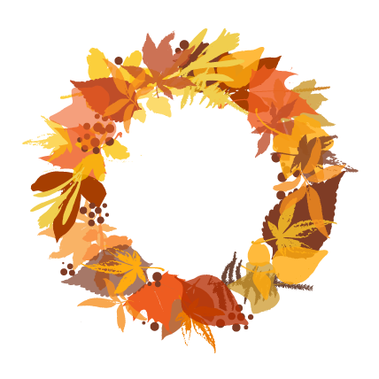 Free fall wreath clipart freeuse download Autumn wreath clipart clipart images gallery for free download ... freeuse download