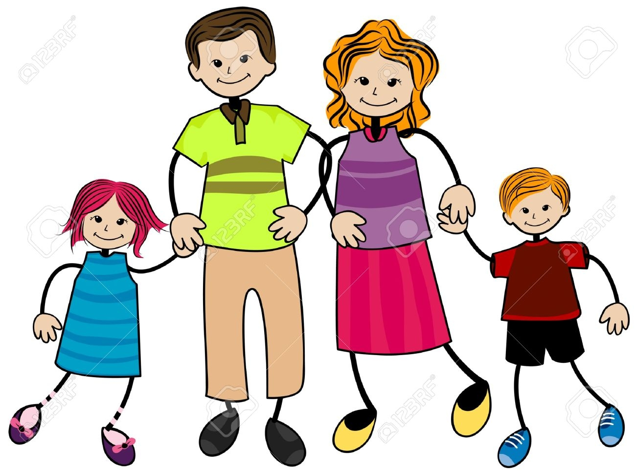 Free family clipart pictures.  images clipartlook