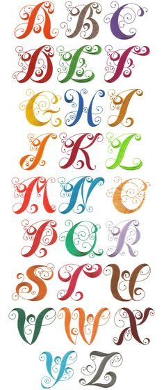 Free fancy christmas alphabet clipart jpg library stock Embroidery Designs | Monogram Font Machine Embroidery Designs ... jpg library stock