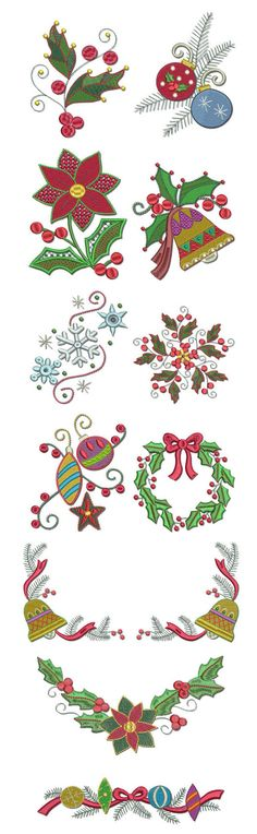 Free fancy christmas alphabet clipart jpg transparent Embroidery | Free machine embroidery designs | Curly Christmas ... jpg transparent
