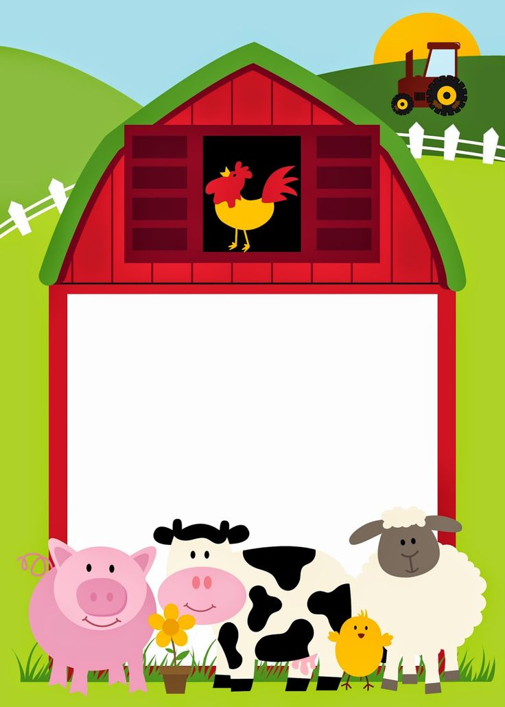 Free farm animal border clipart jpg stock Farming Border Cliparts - Cliparts Zone jpg stock