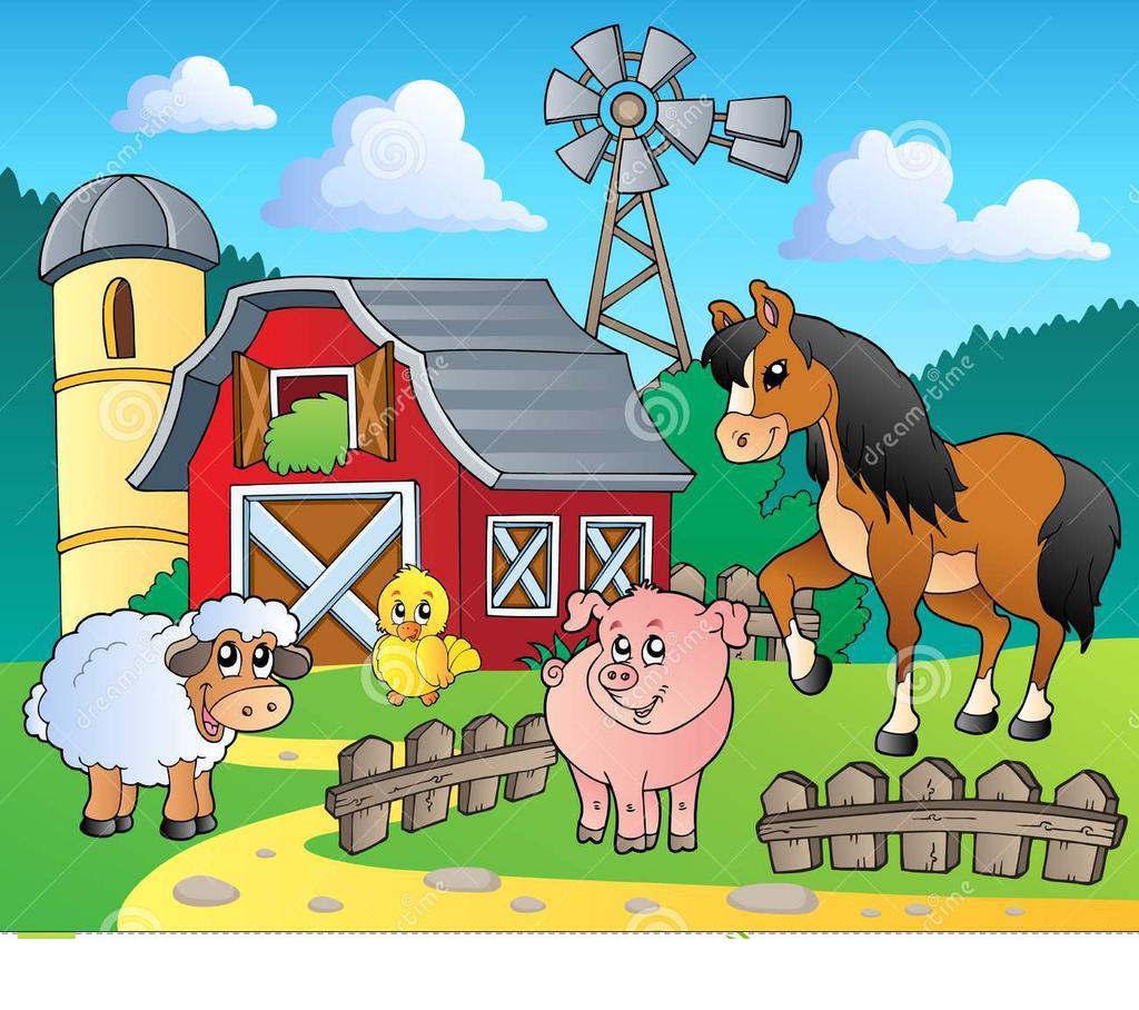Free farm clipart clip art royalty free stock Farm Scene Clipart Image Free Photos - Clipart1001 - Free Cliparts clip art royalty free stock