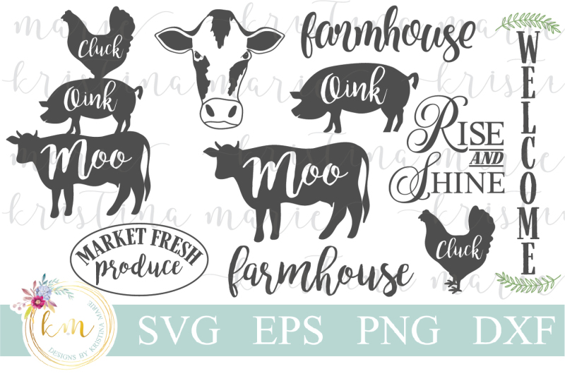 Free farmhouse clipart jpg freeuse library Free Farmhouse SVG Bundle Crafter File - Free SVG Cut Files Images ... jpg freeuse library