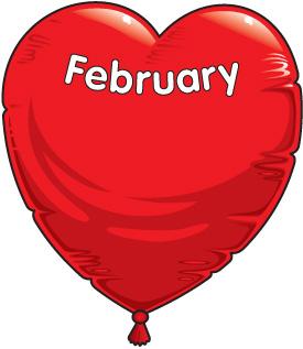 Free february 2014 calendar clipart jpg stock February birthday clipart - ClipartFest jpg stock