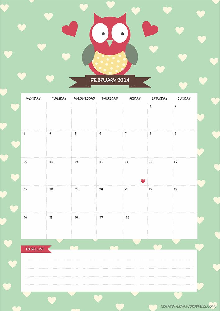 Free february 2014 calendar clipart png free download 78 Best images about calendary on Pinterest | Pegasus, Calendar ... png free download