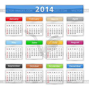 Free february 2014 calendar clipart clipart transparent download Free calendar clipart 2014 - ClipartFest clipart transparent download
