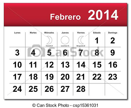 Free february 2014 calendar clipart black and white stock Free february 2014 calendar clipart - ClipartFest black and white stock