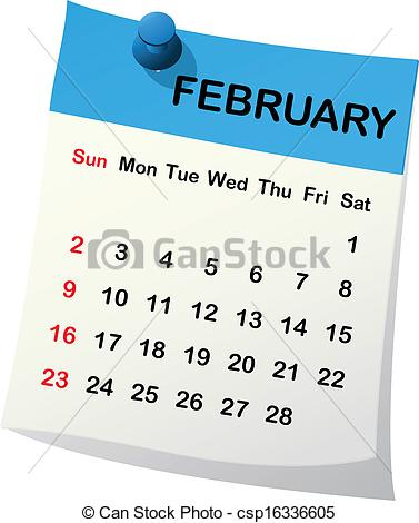 Free february 2014 calendar clipart vector download February Stock Illustrations. 60,781 February clip art images and ... vector download
