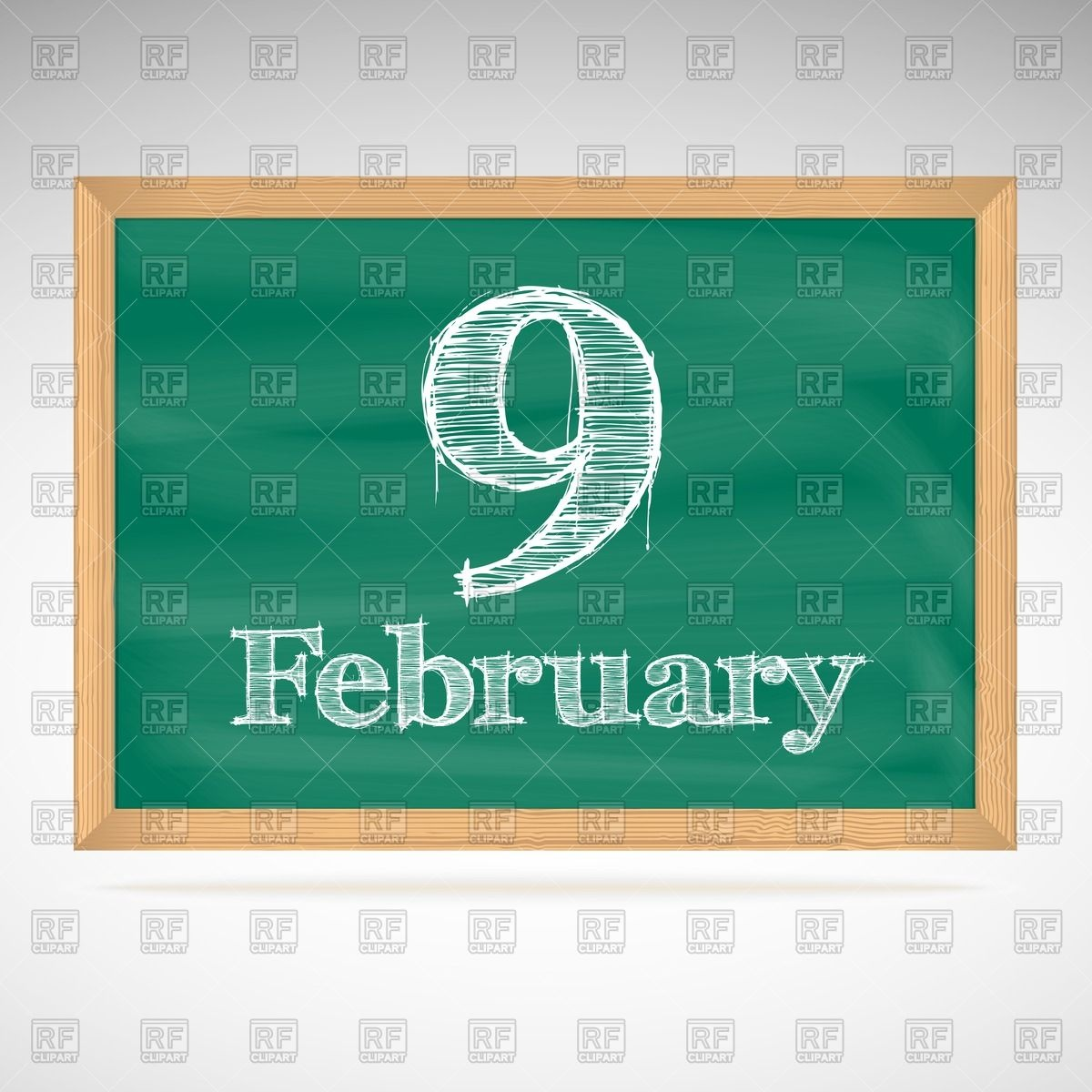 Free february calendar clipart stock February Calendar Clipart - Clipart Kid stock