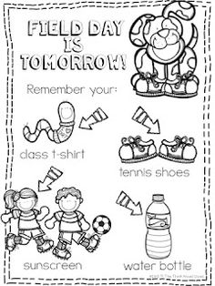 best school pto. Free field day clipart black and white