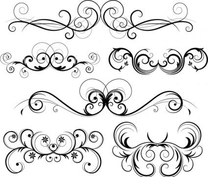 Free filigree clipart svg black and white stock 23+ Free Filigree Clip Art | ClipartLook svg black and white stock