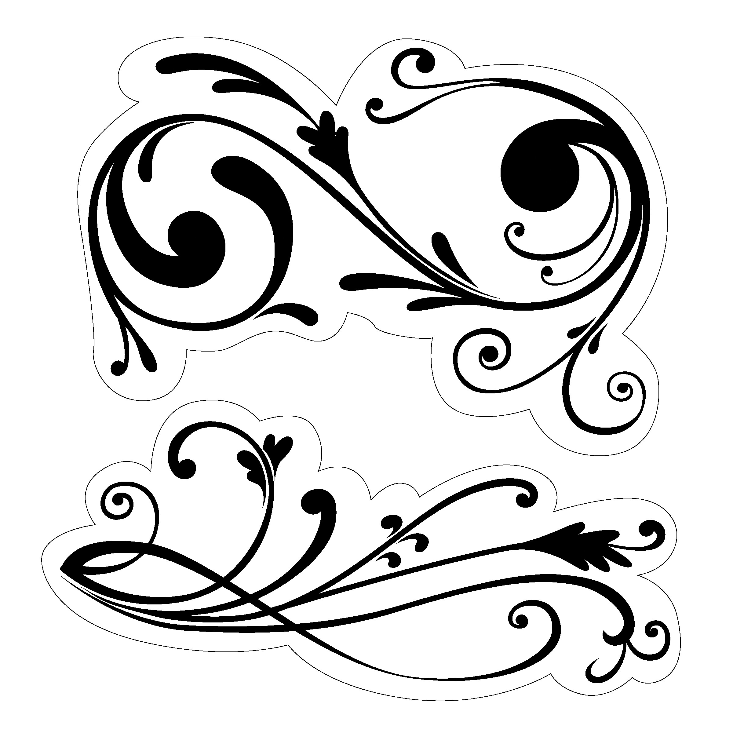 Filigree designs clipart vector royalty free Free Filigree Cliparts, Download Free Clip Art, Free Clip Art on ... vector royalty free