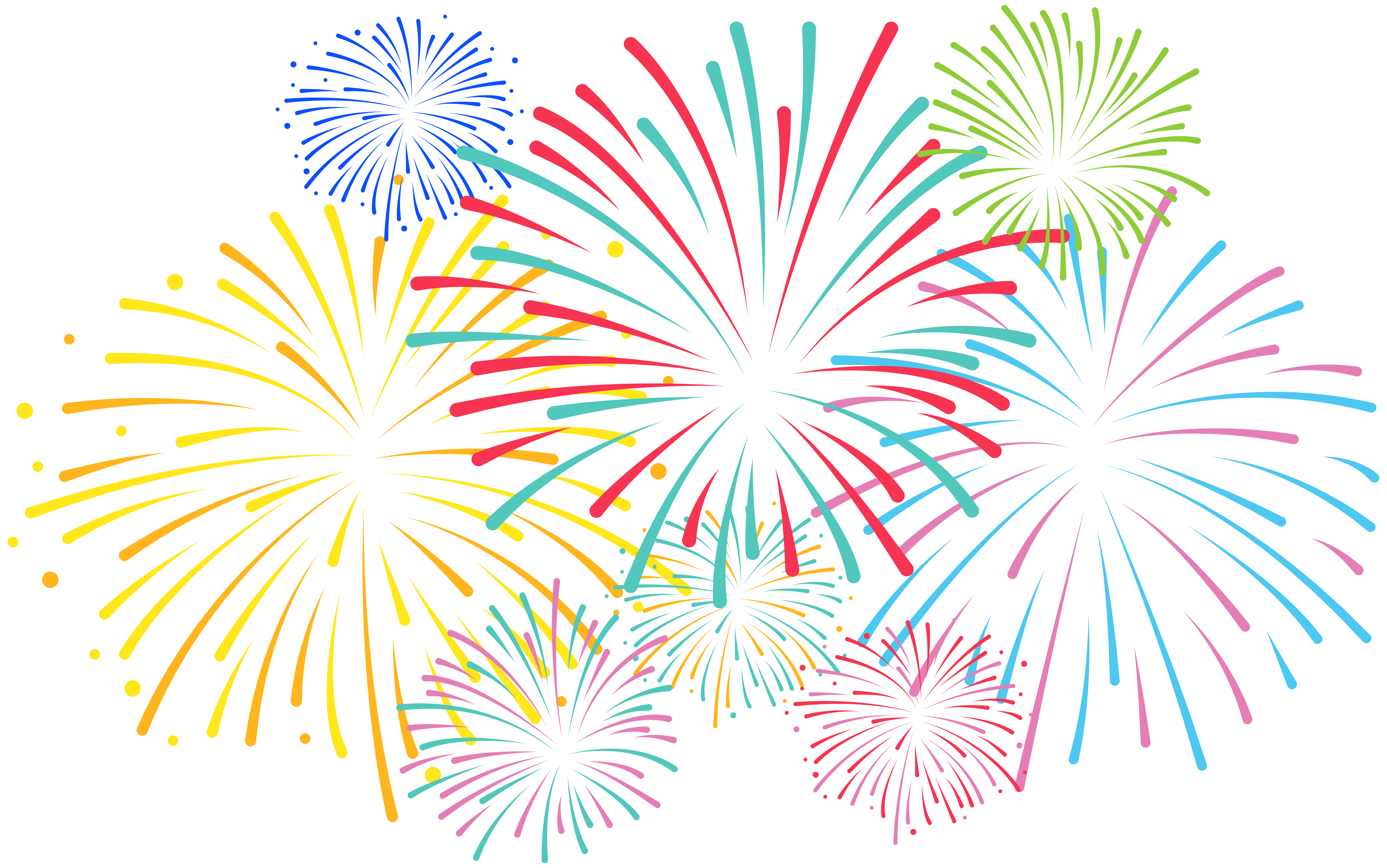 Gallery for download . Free fireworks images clipart