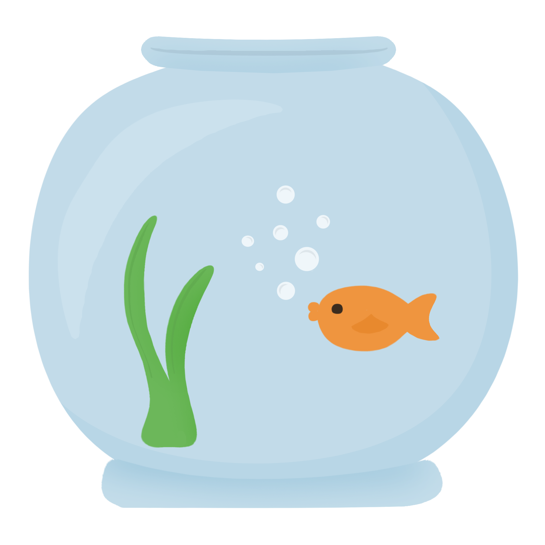 Free fish bowl clipart clipart stock Organism Fish - fish bowl 1800*1800 transprent Png Free Download ... clipart stock