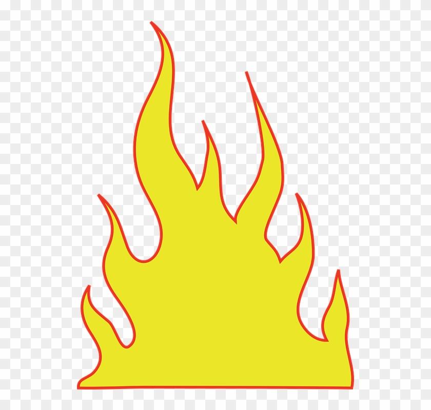 Free flames clipart graphic transparent download Flames Warmth Free Collection - Flames Clipart, HD Png Download ... graphic transparent download