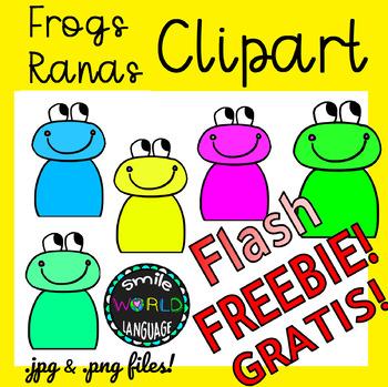 Free flash clipart graphics. Frog animal rana freebie