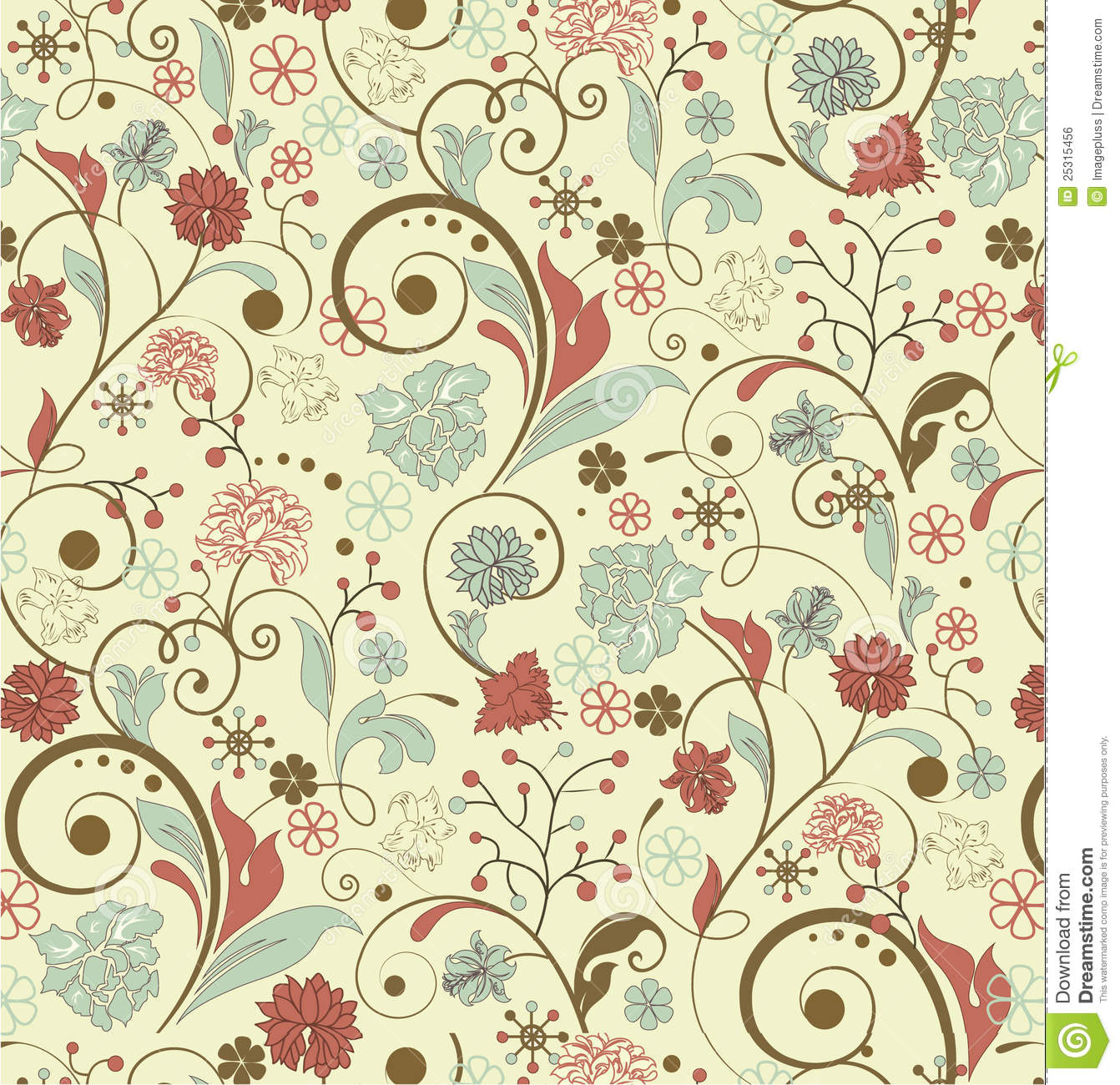 Free floral background images png stock Vintage Floral Background Royalty Free Stock Image - Image: 25315456 png stock