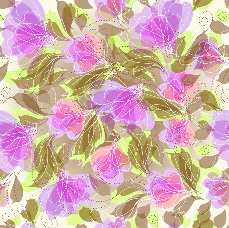 Free floral background images clip art free download Free Abstract Seameless Floral Background Vector Graphic | Free ... clip art free download