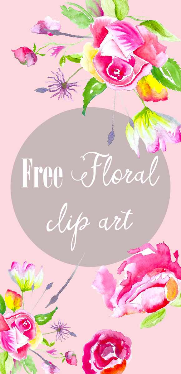 Free floral clip art images jpg library download Free-flower-clip-art download me for free on the blog. Free floral ... jpg library download