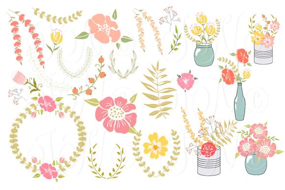 Free floral clip art images