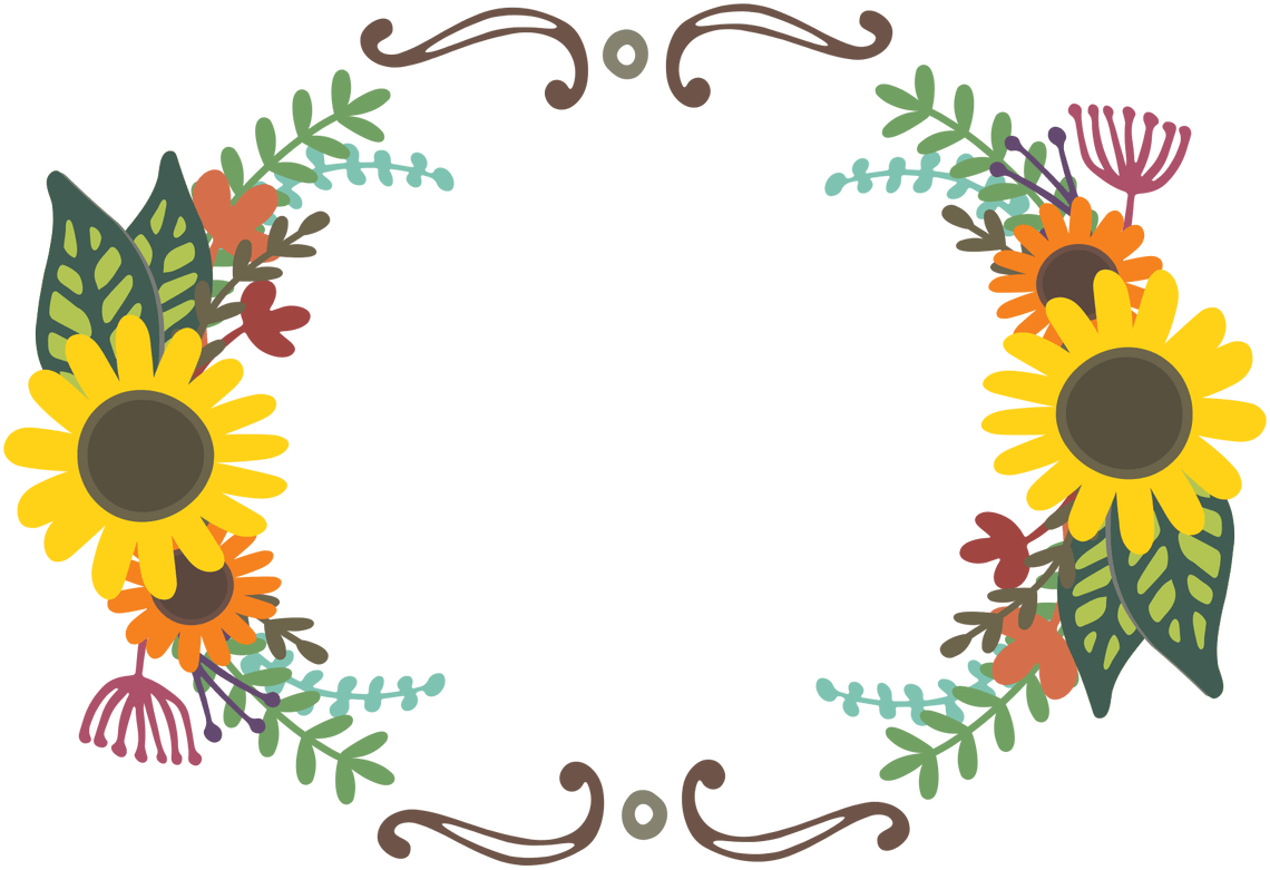 Free floral clipart images picture transparent Free Floral Wreaths & Laurels for Graphic Design | Starsunflower ... picture transparent